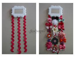 hair clip holder craftaholics anonymous how to make a bow holder