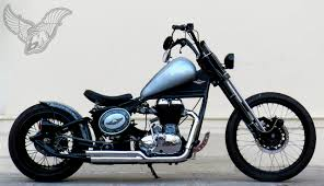royal enfield 500 classic bobber rajputana custom cycles