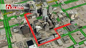 Tulsa Map Tulsa Veterans Day Parade Starts At 11 A M Newson6 Com Tulsa