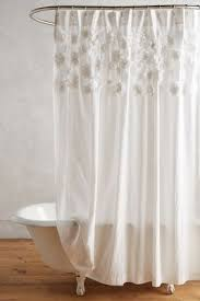 White On White Shower Curtain Shop Unique U0026 Boho Shower Curtains Anthropologie