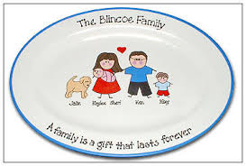 personalized family platters the of a family personalized plate serendipity crafts