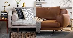 Fabric Or Leather Sofa Which Sofa Is Best For You Leather Or Fabric Wazo Furniture