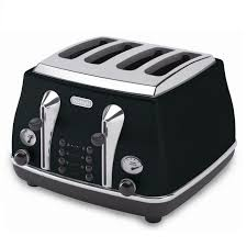 Bosch Styline 4 Slice Toaster Delonghi Icona Retro 4 Slice Toaster Black Cto4003bk Around The