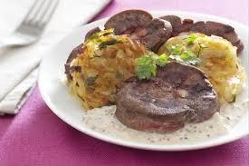 cuisiner des rognons de boeuf recette de rognon de bœuf à la moutarde à l ancienne galette de