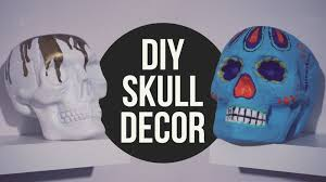 skull decor diy skull decor