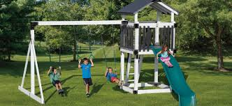 amish made swing sets swing sets for kids adventure world playsets