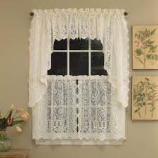 Swag Valances Swag Valance Curtains An Important Detail Of A Kitchen Interior