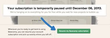 Pause Resume Canceling And Pausing Basecamp 2 Help