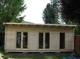 bureau de jardin bois bureaux de jardin
