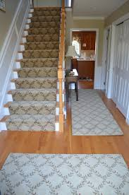 architecture awesome stair runners with black newel and cozy