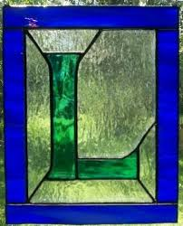 mini stained glass ls 71 best stained glass letters images on pinterest stained glass