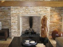 interior styles of river stone fireplace ideas indoor outdoor home