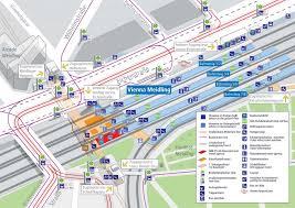 Metro Viena Map by Wien Meidling Railway Station Vienna Train Station