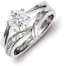 silver wedding ring sets benefits of getting wedding ring and engagement ring sets