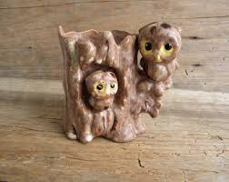 Owl Home Decor Vintage Owl Decor Etsy