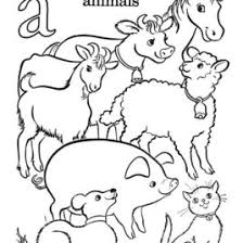 coloring page animals farm archives mente beta most complete