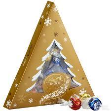 lindor lindt assorted chocolate truffles christmas tree holiday