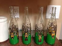 light up xmas decorations christmas light up wine bottles decorative christmas bottles