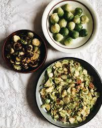cuisiner le choux recette de choux de bruxelles sautés à l ail et prosciutto