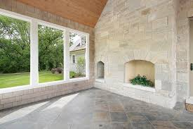 stone porch with fireplace stock image image of porch 10394181