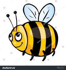 vector cartoon character honeybee stock vector 140061934