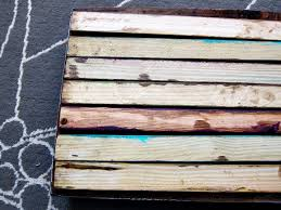 Wood Plank Shelves by Diy Colorful Shelf Spoonful Of Imagination