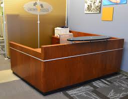 Black Reception Desk Unique Reception Desks Unique Reception Stations Unique Concepts