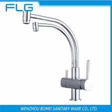popular kitchen sink water filter faucet buy cheap kitchen sink free shipping brand new 2 spout kitchen sink faucet tap pure water filter mixer single handles