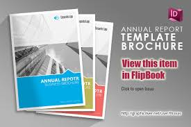 annual report indesign template by braxas graphicriver