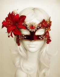 Venetian Halloween Costumes Burgundy Red U0026 Gold Masquerade Mask Withvarious Soffitta