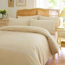 Gold Quilted Bedspread Vantona Wiston Damask Duvet Cover Sets Gold My Home