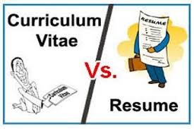 What Difference Between Resume And Cv Between Cv And Resume Pdf