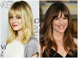 haircuts and bangs 36 gorgeous layered haircuts with bangs in 2017 short long medium
