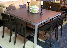 used wood dining table top spots for used furniture in south florida cbs miami