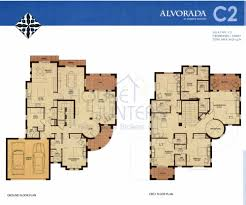 villa plans arabian ranches communities villas arabians golf modern house