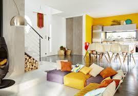 cuisine jaune et blanche awesome cuisine blanche mur gris et jaune ideas design trends 2017