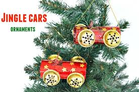 crafts for jingle cars ornaments play box