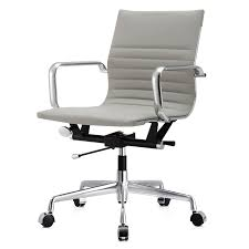 Office Chair Gray Leather Office Chair Modern Chairs Quality Interior 2017