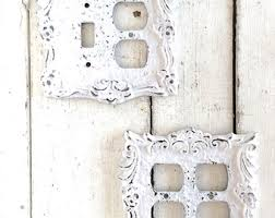 Shabby Chic Switch Plate by Light Switch Plates Light Switchplates Switch Lightswitch