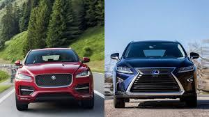 xe lexus rx200t 2016 2017 jaguar f pace vs 2016 lexus rx 350 youtube