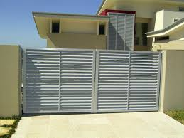 appealing simple folding louver door interior design with cream