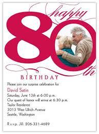 80th birthday invitations 80th birthday invitations cloveranddot