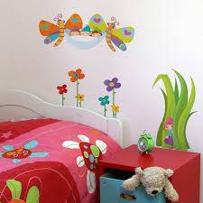 stickers chambre enfants sticker mural les elfes et les papillons stickers chambre enfant