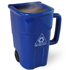 Weird Coffee Mugs by Bigmouth Inc The Recycling Bin Mug Coffee Cups Mugs Pinterest
