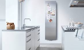 scaldasalviette runtal arteplano termoarredo 180x30 cm inox specchio