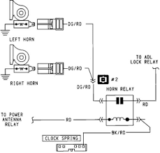 auto horn wiring diagram diagram wiring diagrams for diy car repairs
