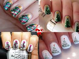 Christmas Light Nails by Nail Art Christmas Tree Christmas Lights Decoration