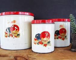 rustic kitchen canister sets rustic canisters etsy