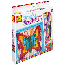 alex toys craft simply needlepoint butterfly arts
