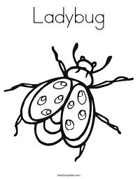 ladybug coloring twisty noodle